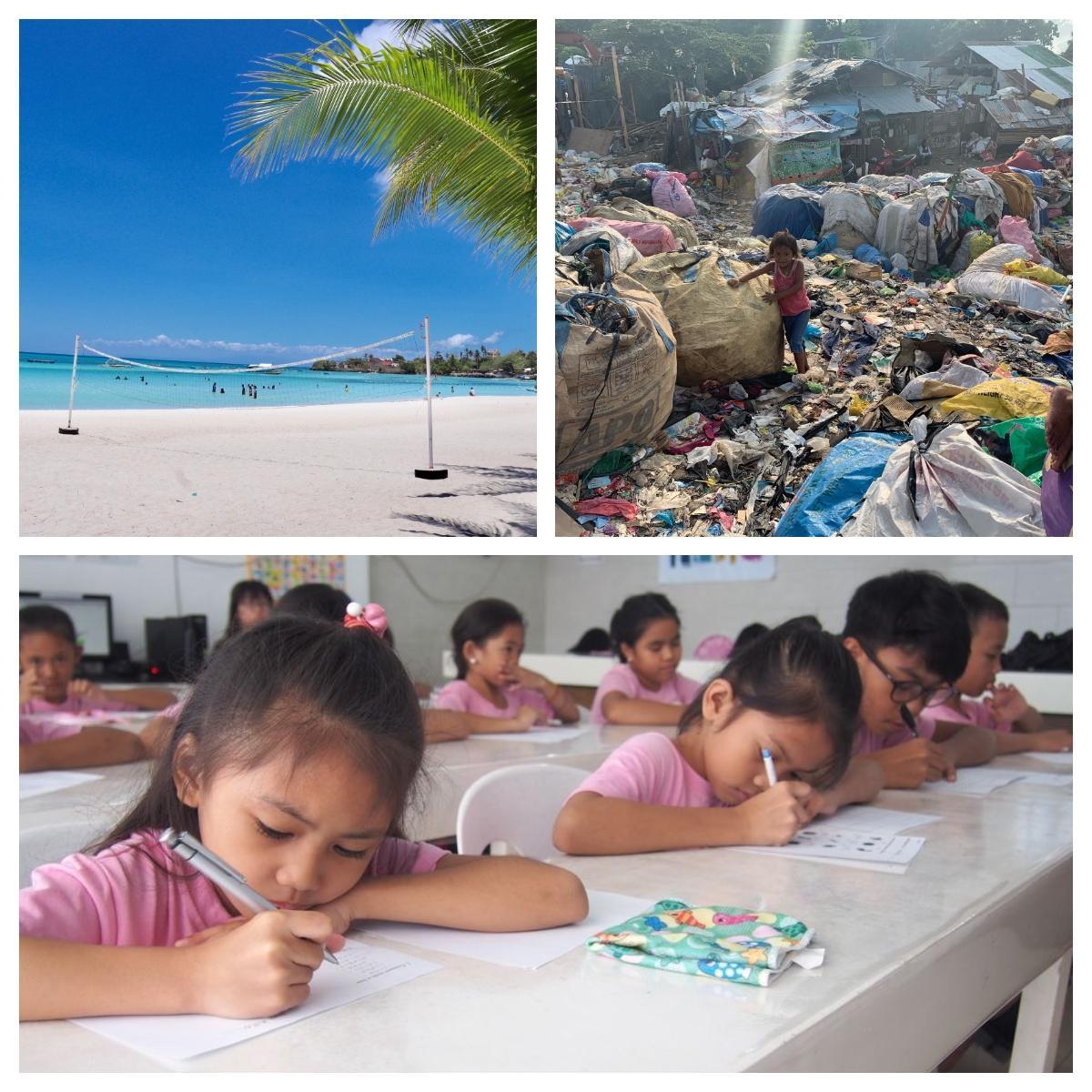 セブ島の貧富の差とDAREDEMO HEROの子どもたち